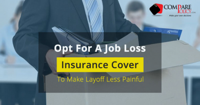 A Job Loss Insurance Cover