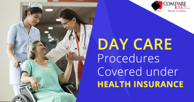 Day care procedures covered under Health insurance