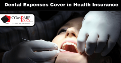 Dental Expenses Cover in Health Insurance