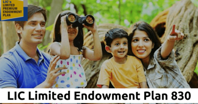 LIC Limited Endowment Plan 830