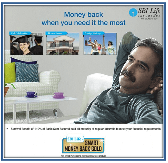 SBI Smart Money Back Gold - Comparepolicy.com