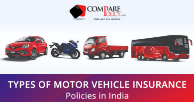 Motor Vehicle Insurance Policies