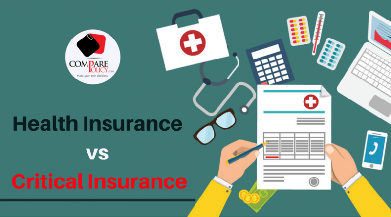 Health Insurance vs Critical Insurance