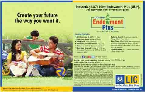 LIC's New Endowment Plus Plan