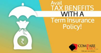 How a Term Insurance Policy helps you save Taxes