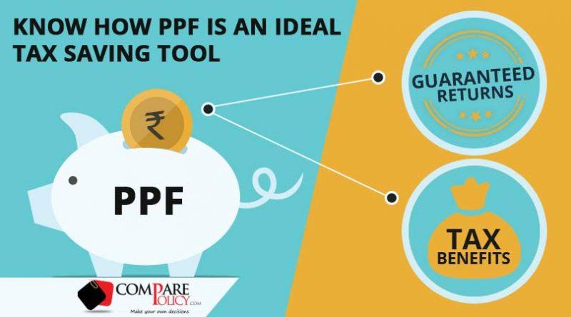 PPF as a Tax Saving Instrument - ComparePolicy.com