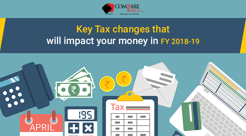 Key tax changes in FY 2018-19