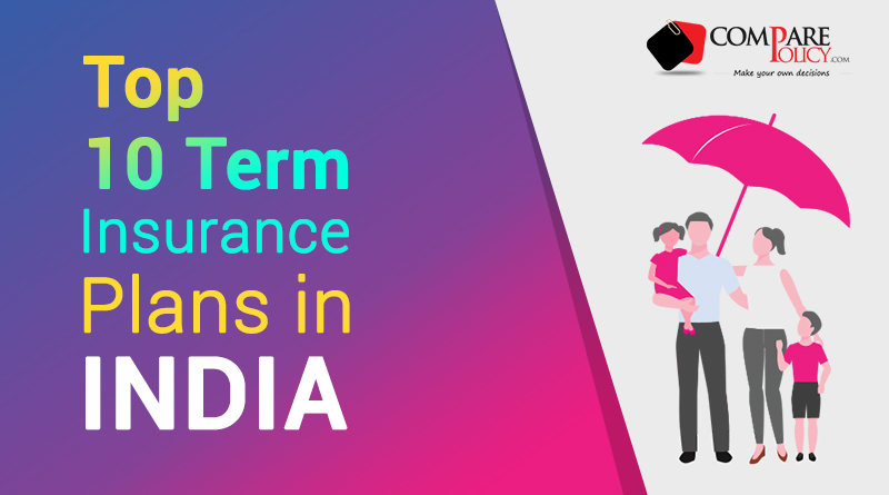 Top 10 Term Insurance Plans in India 2020